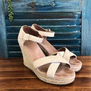 5ad41a436e9 Women Toms Wedding Shoes on Poshmark